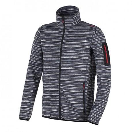 سویشرت CMP مدل Knitted Fleece Jacket