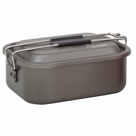 ظرف غذا Laken مدل Aluminium Non Stick Lunch Box 1.2L