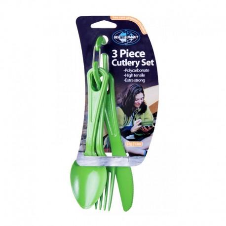 ست قاشق و چنگال و کارد Sea To Summit مدل 3Piece Cutlery Set