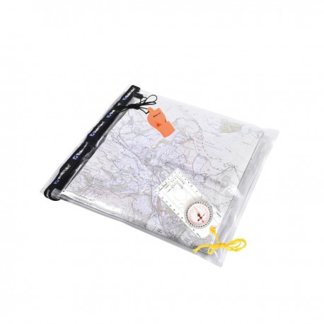 ست نقشه خوانی Trakmates مدل Dry Map Case Compass & Whistle