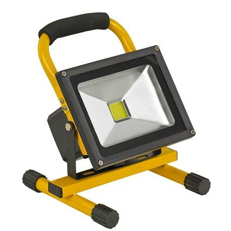 نورافکن و پروژکتور LED شارژی 10 W پایه دار