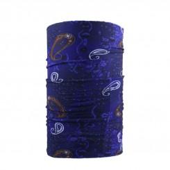 دستمال سر طرح بته جقه ای پلاردار