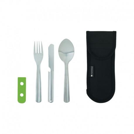 ست قاشق و چنگال و کارد Ferrino مدل Cutlery Foldable Inox