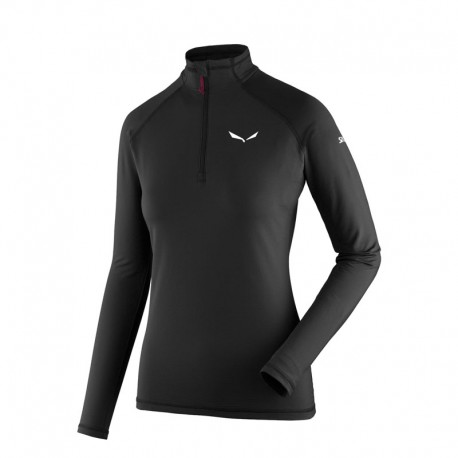 بلوز بیس نیم زیپ Salewa مدل Ortles Cubic Polarlite Long Sleeve W
