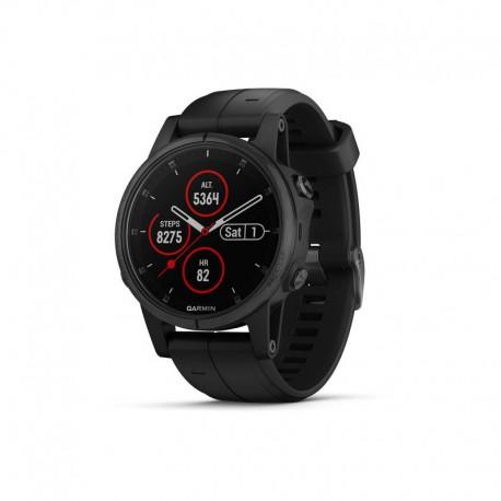 ساعت Garmin مدل Fenix 5S Plus Sapphire with silicone band