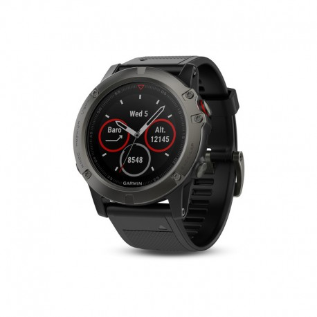 ساعت Garmin مدل Fenix 5X Sapphire with silicone band
