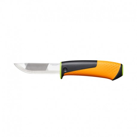 چاقو Fiskars مدل Heavy Duty Knife With Sharpener