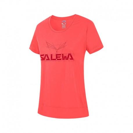 تیشرت Salewa مدل Puez Mountain Dry W S/S TEE